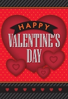 7013 - $3.99 Retail Each - Valentine General Greeting Cards - English Language - wholesale units of 3 cards