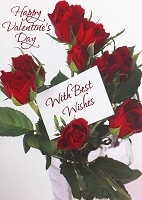 7019 - $3.49 Retail Each - Valentine Granddaughter Greeting Cards English Language PKD 3