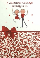 7026 - $3.99 Retail Each - Valentine Grandson Greeting Cards - English Language PKD 3