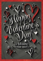 7029 - $3.99 Retail Each - Valentine Son Greeting Cards - English Language PKD 3
