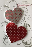 7038 - $5.99 Retail Each - Valentine's Day - Granddaughter Handcrafted PDK 3