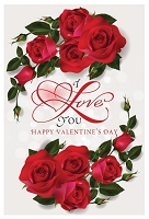 7067 - $3.99 Retail Each - Valentine General Greeting Cards English Language PKD 3