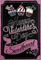 7071 - $3.99 Retail Each - Valentine Love Greeting Cards English Language PKD 3
