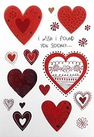 7075 - $3.99 Retail Each - Valentine Parents PKD 3