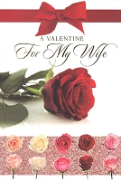 7096 - $3.99 Retail Each - Valentine Wife Greeting Cards - English Language PKD 3