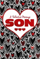7098 - $5.99 Retail Each - Valentine Wife Greeting Cards - English Language PKD 3