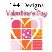 7126A - 144 design wholesale Valentine Card Assort pkd in 3's