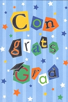 7215 - $3.99 Retail Each - Graduation General PKD 3