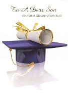 7262 - $3.99 Retail Each - Graduation Son PKD 3