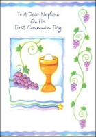 7315A - $2.50 Retail Each - Communion Nephew PKD 6