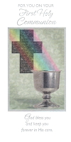 7318 - $3.49 Retail Each - Communion Money & Gift Card Holder PKD 3
