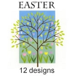 7491A - 12 designs Premium Easter Assortment pkd in 3's discounted an extra 20% off wholesale - 36 Cards total