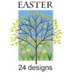 7492 - 24 designs Premium Easter Card Assortment - packed 3, discounted an extra 20% - 72 Cards total