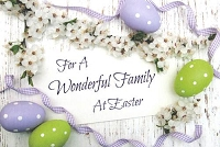 7402 - $3.99 Retail Each - Easter Whole Family PKD 3