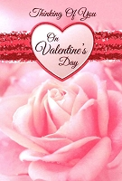 7807 - $3.99 Retail Each - Valentine General Greeting Cards - English Language - wholesale units of 3 cards