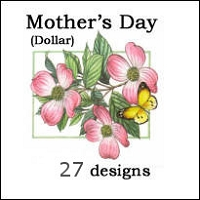 8261 - 27 pkts Spanish Mother's Day Dollar Cards in balanced Assortment in 6's