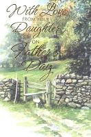 8518 - $3.99 Retail Each - Fathers Day From Daughter PKD 3
