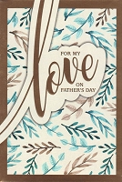 8519 - $3.99 Retail Each - Fathers Day Love PKD 3