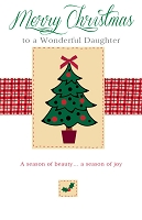 9456 - $3.25 Retail Each - Christmas Daughter Greeting Cards PKD 6