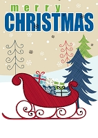 9509 - $3.29 Retail Each - Christmas General Greeting Cards PKD 6