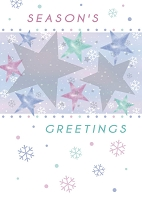 9524 - $3.29 Retail Each - Christmas Season's Greetings Greeting Cards PKD 6