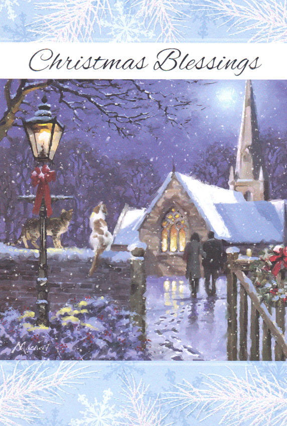 Beautiful Religious Christmas Cards.9545 3 99 Retail Each Christmas General Religious Greeting Cards Pkd 6