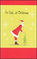 9599 - $2.85 Retail Each - Christmas Dad Greeting Cards PKD 6