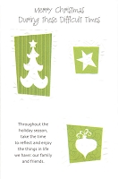 9503 - $2.79 Retail Each - Christmas Difficult Times Greeting Cards PKD 6