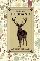 9573A - $5.99 Retail Each - Christmas Husband Greeting Cards PKD 3