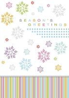 9610 - $2.99 Retail Each - Season's Greetings Greeting Cards PKD 6