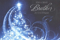9601 - $3.99 Retail Each - Christmas Brother Greeting Cards PKD 6
