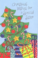 9621 - $3.29 Retail Each - Christmas Greeting Cards Sister PKD 6