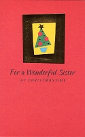 9622 - $2.99 Retail Each - Christmas Sister Greeting Cards PKD 6