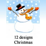 9886 - 14 Designs of Christmas Cards. 6 of each design. English Assortment discounted 30% - 40% off wholesale price