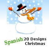 9893 - 20 Designs of Value Christmas Cards. PKD 6 per design. Spanish Language. Assortment with amazing discounts