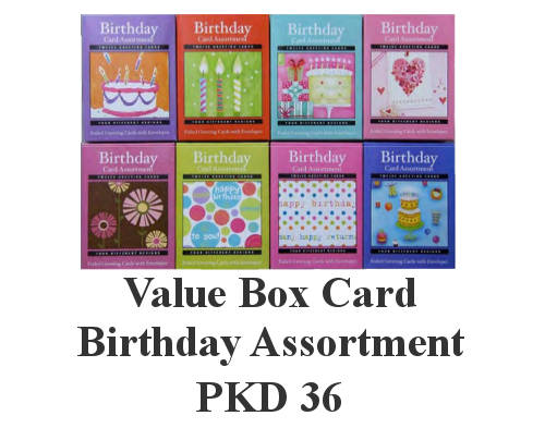 Buirthday Boxed Cards