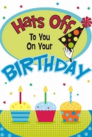 BIG02 - $8.99 Retail Each - Jumbo Card Birthday Humorous PKD 6