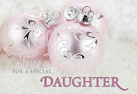 CH115 - $3.99 Retail Each - Christmas Daughter Greeting Card - PKD 6
