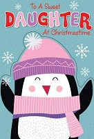 CH120 - $3.99 Retail Each - Christmas Daughter Juvenile Greeting Card - PKD 6