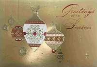 CH155 - $4.99 Retail Each - Christmas General Greeting Card - PKD 3
