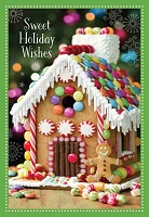 CH204 - $2.80 Retail Each - Christmas Happy Holidays Greeting Card - PKD 6