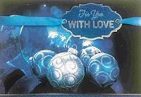 CH222 - $5.99 Retail Each - Christmas Love Greeting Card - PKD 3