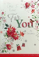 CH224 - $3.99 Retail Each - Christmas Love Greeting Card - PKD 6