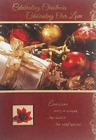CH226 - $3.99 Retail Each - Christmas Love Greeting Card - PKD 6