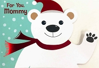 CH247 - $3.99 Retail Each - Christmas Mommy Greeting Card - PKD 6