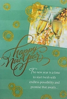 CH253 - $3.99 Retail Each - Christmas New Year Greeting Card - PKD 6