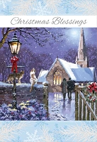CH266 - $3.99 Retail Each - Christmas Religious Greeting Card - PKD 6