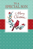 CH296 - $3.99 Retail Each - Christmas Son Teen Greeting Card - PKD 6