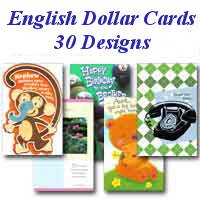 DC1001 - 30 Pocket English Everyday Dollar Assortment PKD 6
