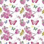 FW1039 - $2.89 Butterflies Flat Wrap pkd in 6's